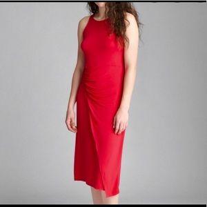 ❤️GAP tank ruched jersey dress